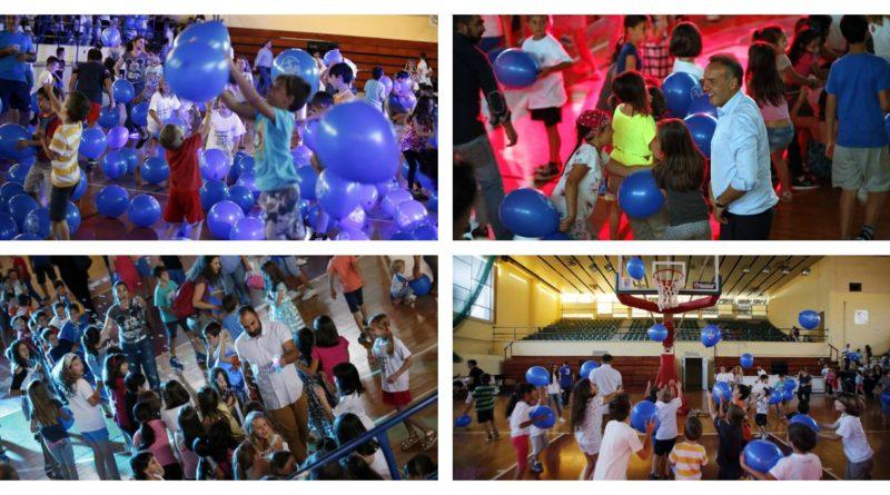 Γλυφάδα: Εκατοντάδες μπαλόνια στην πρεμιέρα του summer camp