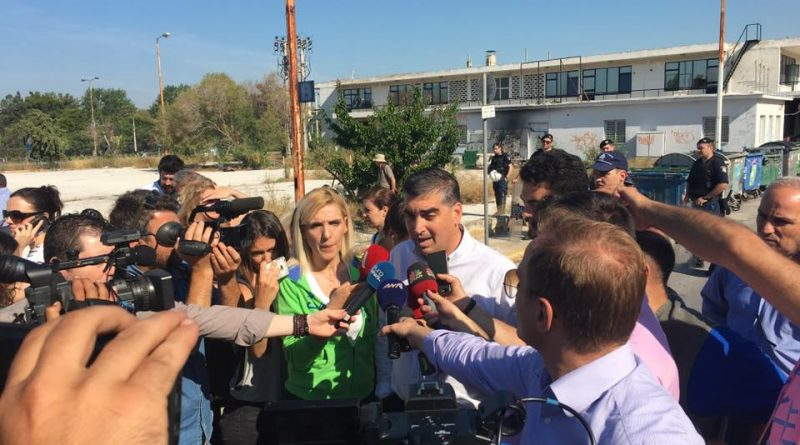 Δήλωση Κωνσταντάτου για την εκκένωση του καταυλισμού στο Ελληνικό