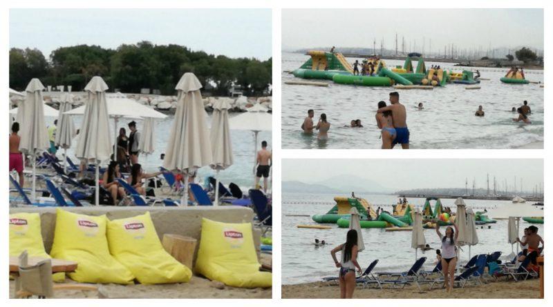 Άλιμος: Ποια βροχή; Τα 15χρονα γέμισαν τις παραλίες VIDEΟ&ΕIKONEΣ)