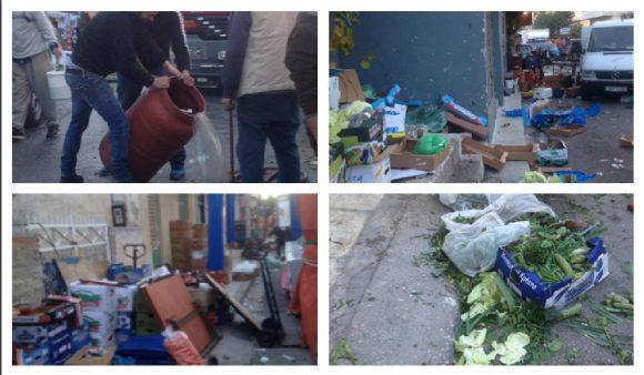 Απαράδεκτη η κατάσταση στη λαϊκή στον Ασύρματο, λένε οι εργαζόμενοι στο δήμο (ΕΙΚΟΝΕΣ)