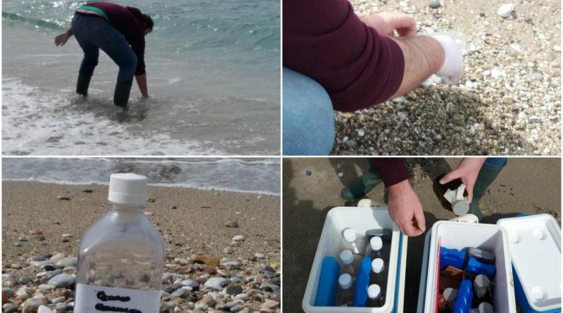 Δειγματοληψίες στις ακτές του Αλίμου από το Πανεπιστήμιο Ιωανίνων