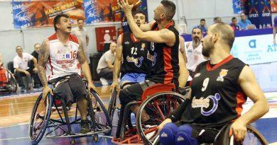 Νέα Σμύρνη: Υπέροχο θέαμα στο Πρωτάθλημα Μπάσκετ με Αναπηρικό Αμαξίδιο (ΕΙΚΟΝΕΣ)